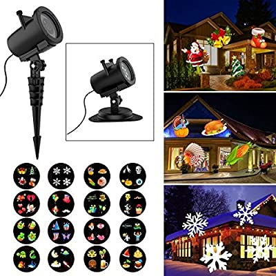 Holiday Birthday Party Outdoor Garden House Apartment Room Night LED Projector (10W)