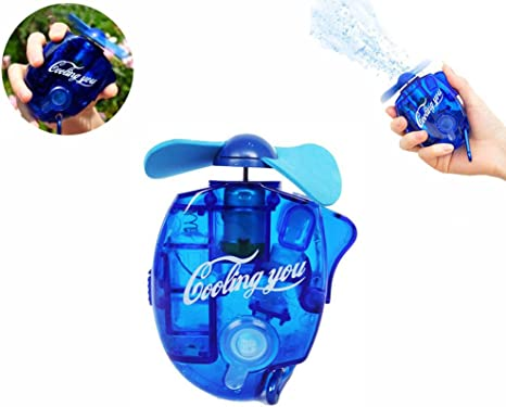 Szjsl Ventilador de chorro de agua Mini ventilador de aire ...