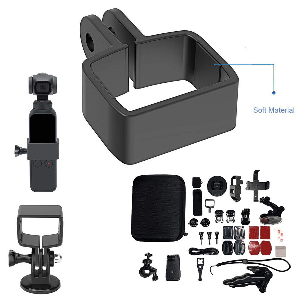 Euone Fixed Bracket, Accessories Bundle Camera Outdoor Sports Set Kit 33-in-1 for DJI OSMO Pocket