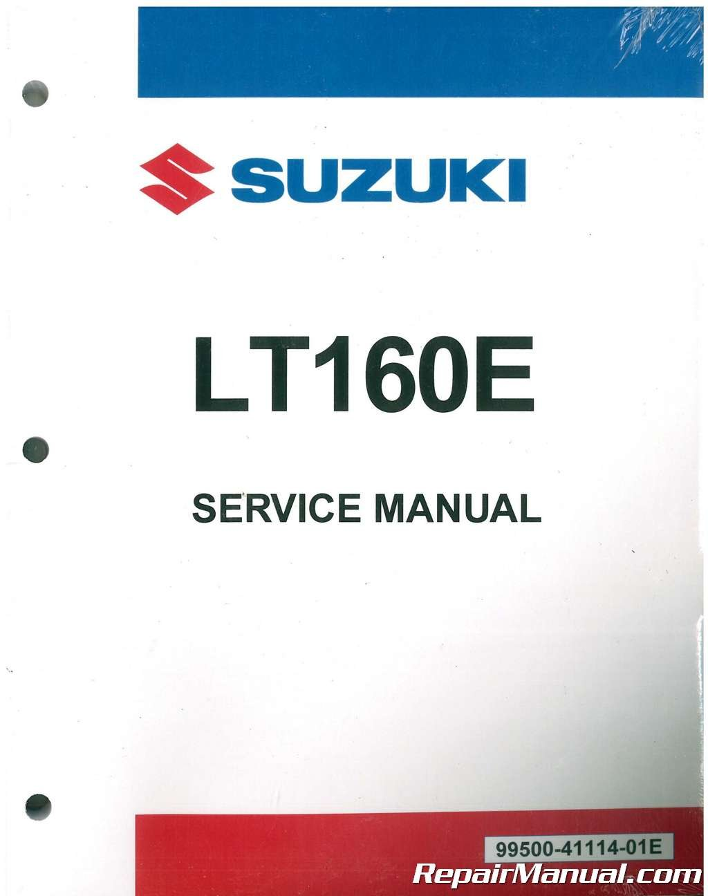99500-41114-01E 1989 ? 2005 Suzuki LT160 LT-F160 Quadrunner ATV Service  Manual: Manufacturer: Amazon.com: Books