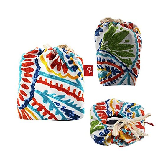"Pcinfuns Set of 2 Patio Indoor/Outdoor All Weather Decorative Throw Pillow Cover Cushion Case for Replacement 18"" x 18""-Phoenix - 100% Spun Polyester. Package includes:2 pcs 18 x 18 inches square toss pillow covers, insert NOT included. Zipper closure easy for pillow covers replacement. - patio, outdoor-throw-pillows, outdoor-decor - 613oU3d0XnL. SS570  -"