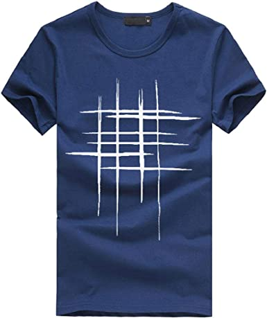 Camisetas Hombre, SHOBDW Camisetas De Impresión Camisa De ...