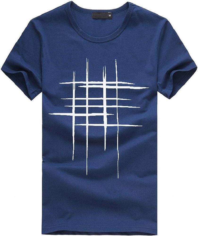 Camisetas Hombre, SHOBDW Camisetas De Impresión Camisa De Cuello ...