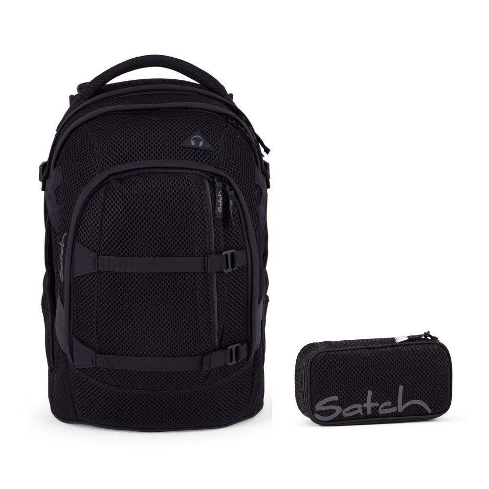Satch Pack Mermaid Meshy Special Edition 2er Set Schulrucksack /& Schlamperbox