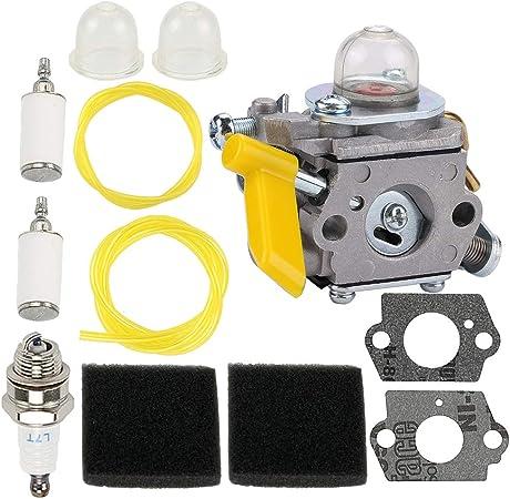 Amazon.com: ATVATP 985624001 Carburador para Ryobi Homelite ...