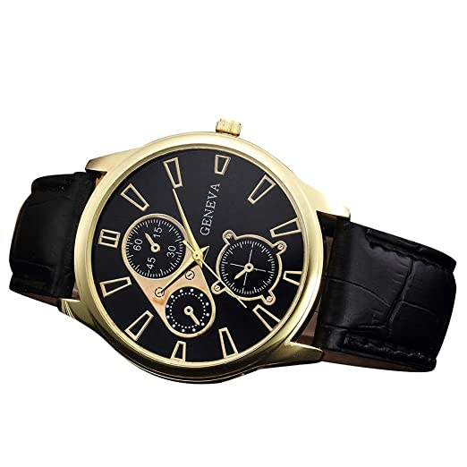 VEHOME Reloj de Pulsera de Cuarzo de aleación analógica de diseño Retro-Relojes Inteligentes relojero Reloj reloje hombresRelojes de Pulsera Marcas ...