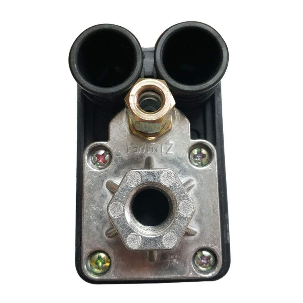 Pressostato di commutatore di pressione di compressore daria con valvola di controllo regolatore