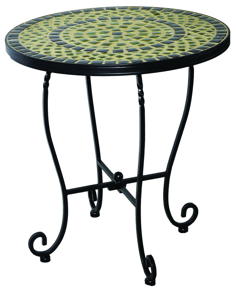 amazon com alfresco home 28 1172 shannon mosaic outdoor side