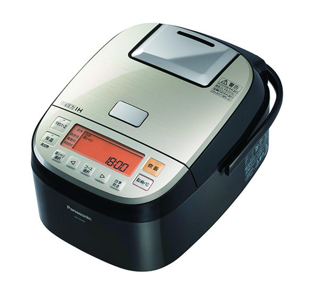 パナソニック 5.5合 炊飯器 圧力IH式 おどり炊き ステンレスブラック SR-PX103-K   B00EYSERE4