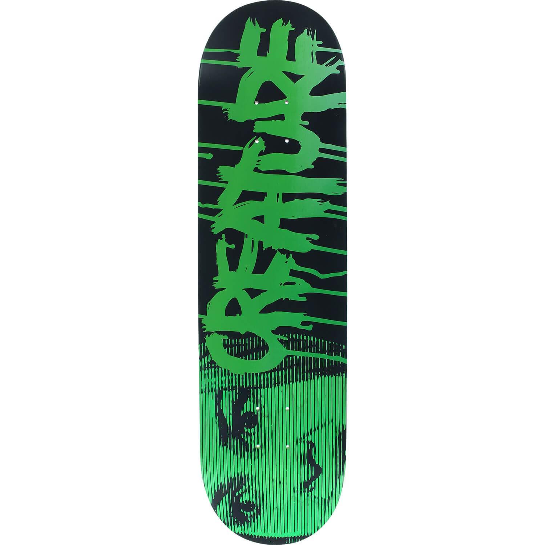 8.2 x 31.9 Creature Skateboards Blood Black//Green Skateboard Deck Medium