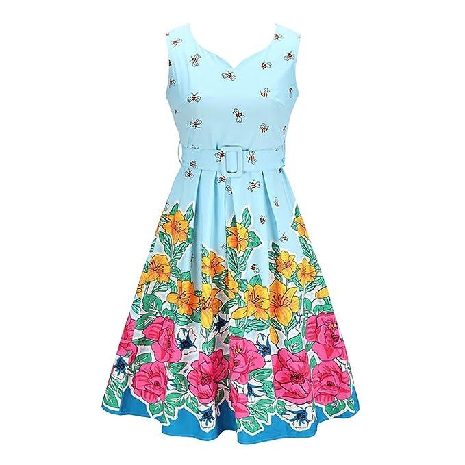 MY DRESS CODE Vintage 1950\'s Summer Floral Garden Party Picnic Dress ...