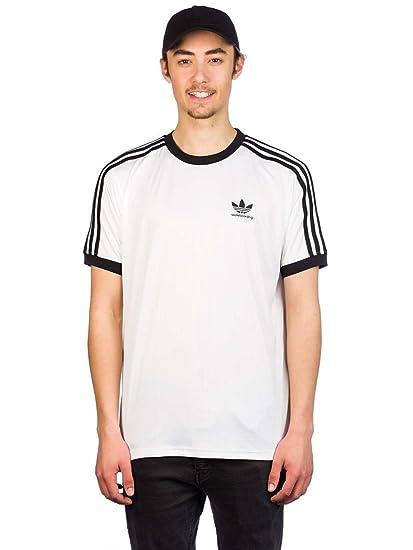 Adidas Clima Club Jers Camiseta, Hombre, (Blanco/Negro), 2XL