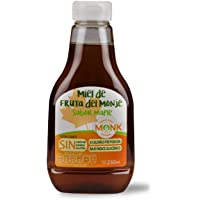 Miel Monk: Miel de Fruta del Monje sabor maple 250 ml.