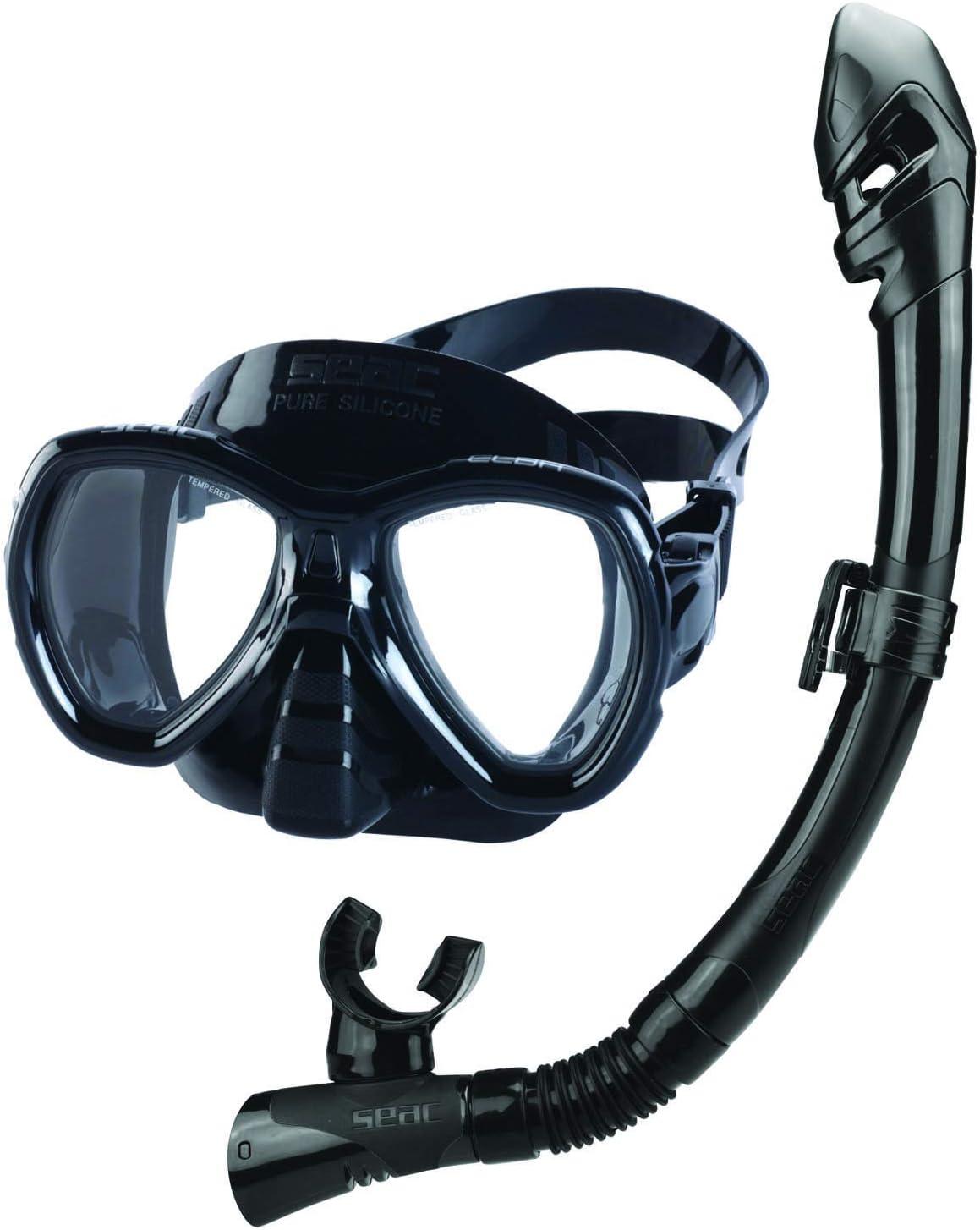 Seac Set Bis Elba Dry, Snorkeling Set