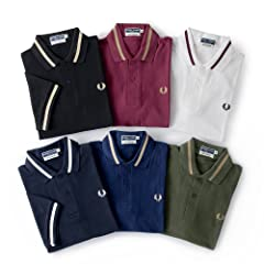 Fred Perry Single Tipped Fred Perry Shirt M2