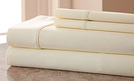 1000 Thread Count Cotton Rich SOLID HIGHEST QUALITY WRINKLE FREE, STAIN  FREE U0026 FADE RESISTANT