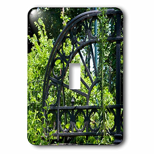 3dRose LLC 3dRose LLC LSP 100241_ 1decorativo arco en jardín–individual interruptor de palanca