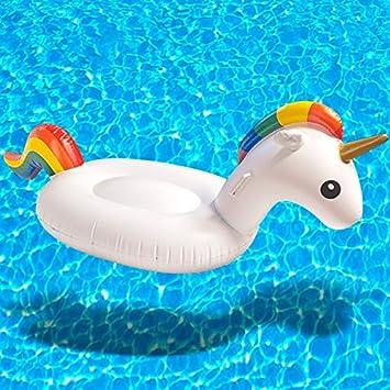 Flotador Hinchable unicornio para piscina - Flotador Anillo Juego hinchable: Amazon.es: Electrónica