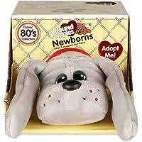 Pound Puppies 38108 Newborns Classic Stuffed Animal Plush Toy Grey, 8 inches