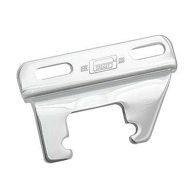 MR Gasket 9852 Chrome Header Mount Alternator Bracket: Automotive