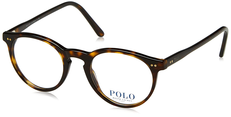 12df1b9e93 Amazon.com  Polo Men s PH2083 Eyeglasses Shiny Dark Havana 46mm  Clothing