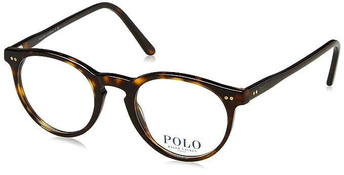 Polo Men\'s PH2083 Eyeglasses Shiny Dark Havana 46mm