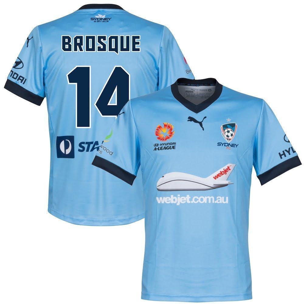 Puma Sydney FC Home Authentic Trikot 2016 2017 + Brosque 14 (Fan Style)