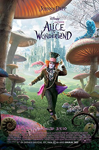 (Posters USA - Disney Alice In Wonderland Johnny Depp Movie Poster GLOSSY FINISH - FIL002 (24