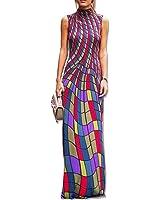 Xanthedoris New Plaid Mangas Do Vintage Vestidos de Impressão Longos Mulheres Vestido Maxi Vestidos de Gola