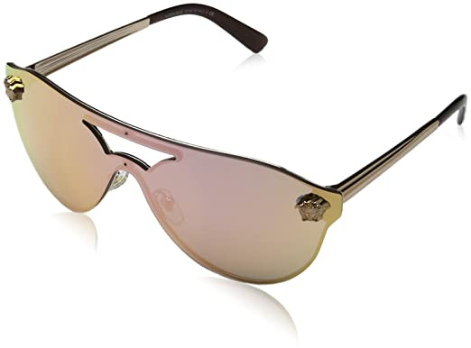 610417171 Amazon.com: Versace Women's VE2161 Sunglasses 42mm: Clothing