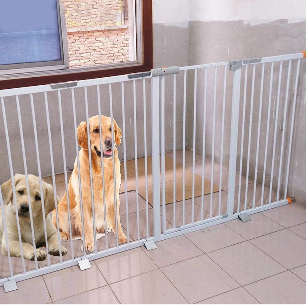 Zonster Instalación fácil Aislamiento Puerta de Seguridad Barandilla Durable Perro de Mascota Accesorios de Refuerzo Aleación de Aluminio Triangular