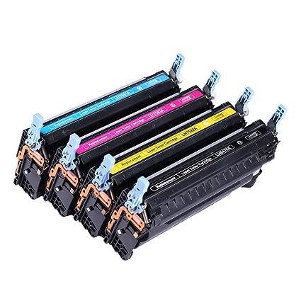 Cartucho de tóner Q9730A, compatible con la impresora HP 9730A ...