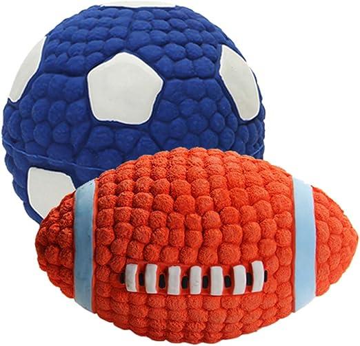 Balacoo Masticar Pelota balón de fútbol Sonido Juguetes Perro ...