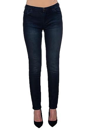 6423961943e7 Emporio Armani - Jeans - Femme Bleu Bleu - Bleu - 34  Amazon.fr ...