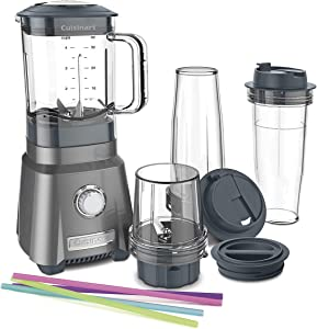 Cuisinart CPB-380 Hurricane Compact Juicing Blender, Gunmetal