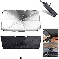Universal Car Windshield Sun Shade Umbrella, Foldable Car Front Windshield Heat Insulation Sunscreen Sunshade Sun Visor…