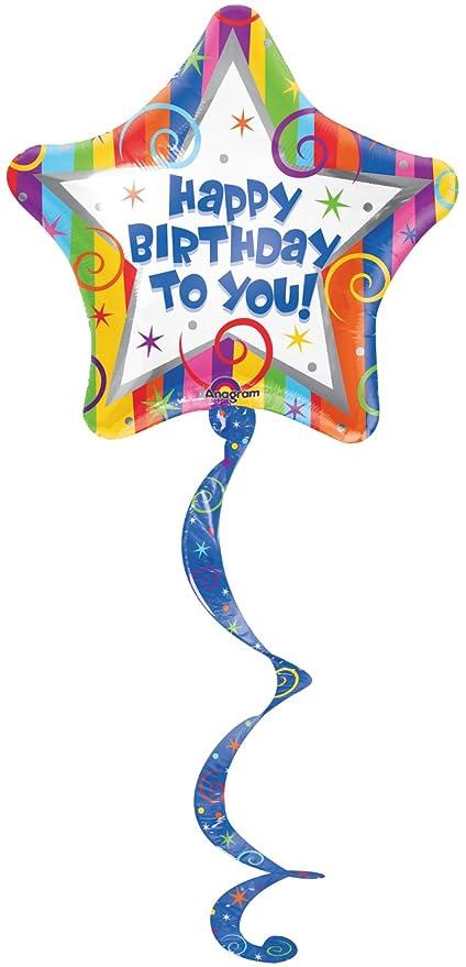 Anagram internacional feliz cumpleaños serpentinas Bobina ...
