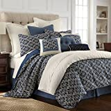 HiEnd Accents 4 Piece Monterrey Coastal Duvet Set, King