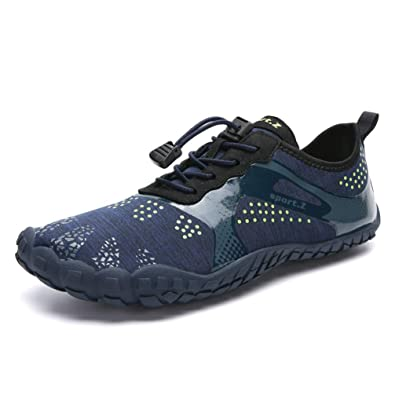 9cdaced066df2 Amazon.com | Men's and Women's Athletic Water Shoes Wide Toe Box ...