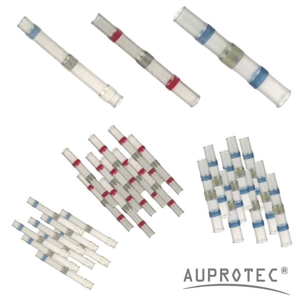 70 blu // 30 giallo 100 Connettori termoretraibili saldanti set assortimento selezione: