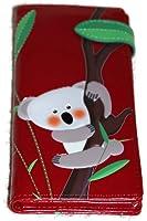 Shagwear Koala Bear Wallet Red
