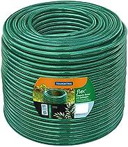 Tramontina Mangueira Flex em PVC 3 Camadas, 3/4 Polegadas, 50 m, Verde, 79190500