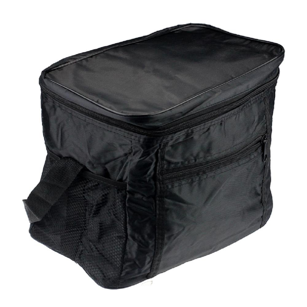 Clearance Storage bins,AIEason Thermal Cooler Waterproof Insulated Portable Tote Picnic Lunch Bag New (Black)