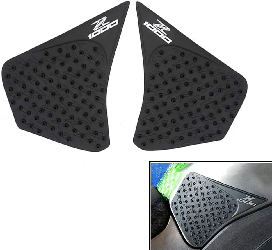 COPART Motorcycle Gas Tank Traction Pads Fuel Tank Grips Side Stickers Knee Grips Protectors Decal for Kawasaki Z1000 2015 2016 2017 2018 2019