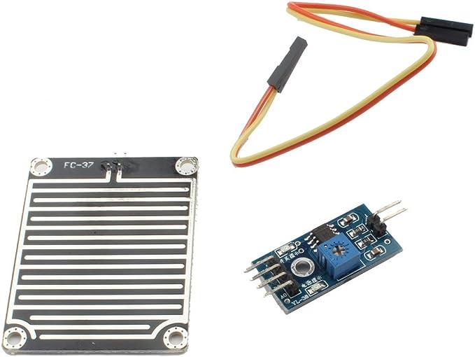ANGEEK DHT22 AM2302 Digitaler Temperatursensor und Feuchtigkeitssensor mit PCB Kabel f/ür Arduino Raspberry DIY