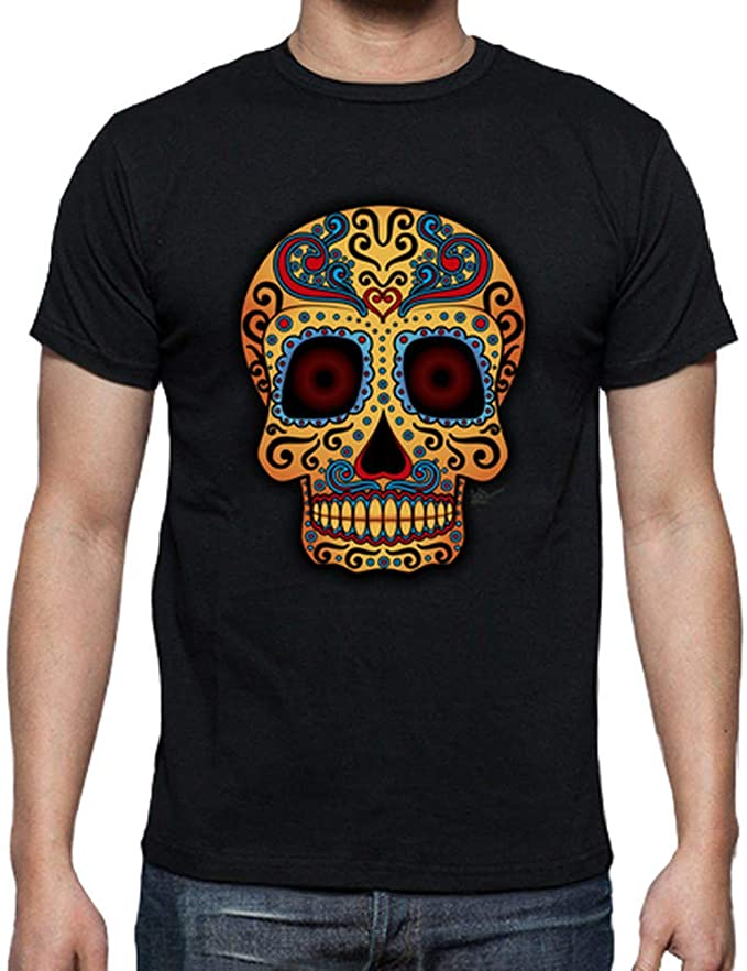 Acheter t-shirt homme tete de mort online 12
