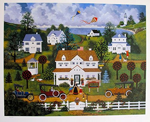 Wall Art by Jane Wooster Scott Remember When Hand Signed Limited Ed. Lithograph Print. After the Original Painting or Drawing. - Limited Ed Hand Signed