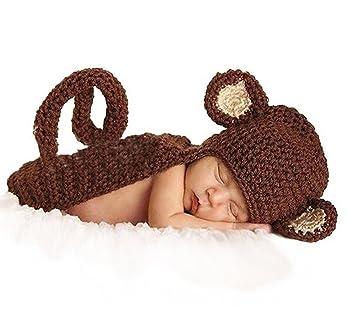 Jastorebonita Mono Disfraces para Bebé Fotografía Infantil Bebé ...