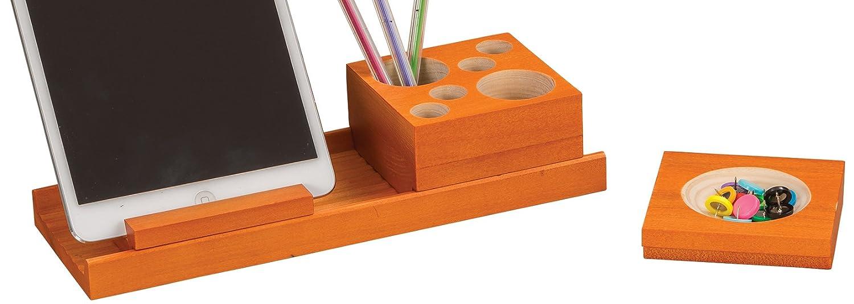 Orange  Safco Products Splash MultiCouleure Lot de bureau Bois noir