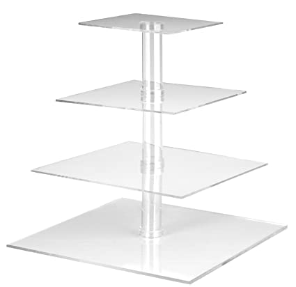 Image result for clear acrylic cake stand